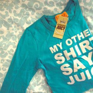 (New) Juicy Couture Long Sleeve