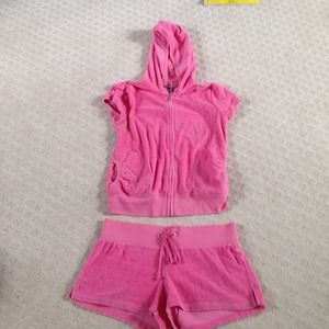 Juicy couture shorts set