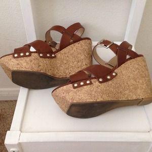 shoedazzle Shoes - Shoedazzle Anja wedges