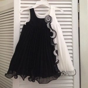 Bonnie Baby 2 piece formal toddler dress