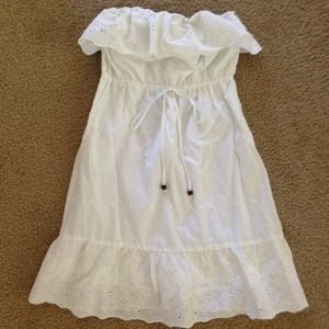 Forever 21 Dresses & Skirts - Forever 21 White Eyelet Dress