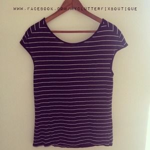 Michael Stars Striped Tee