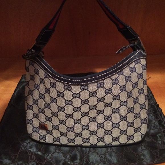 Gucci Monogram Small Hobo Bag!