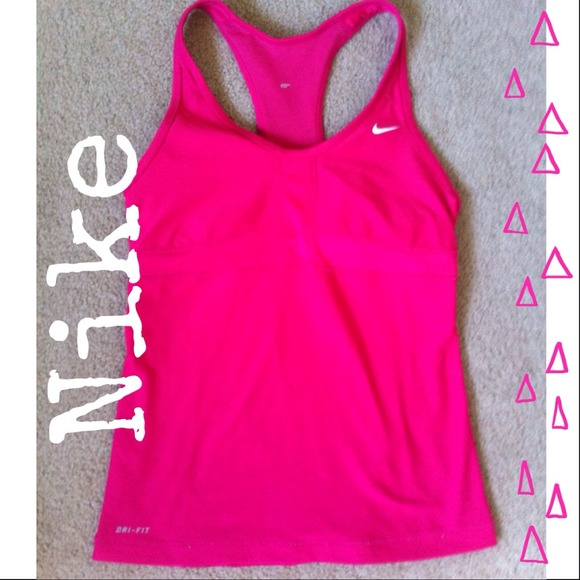 b0b9ce2ca6 💞NIKE HOT PINK WORKOUT TOP💞. M 5365a68fe381dc058200d6a2. Other Tops you  may like. Nike Dri-Fit Tank