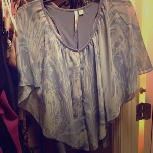 Blue LC by Lauren Conrad blouse