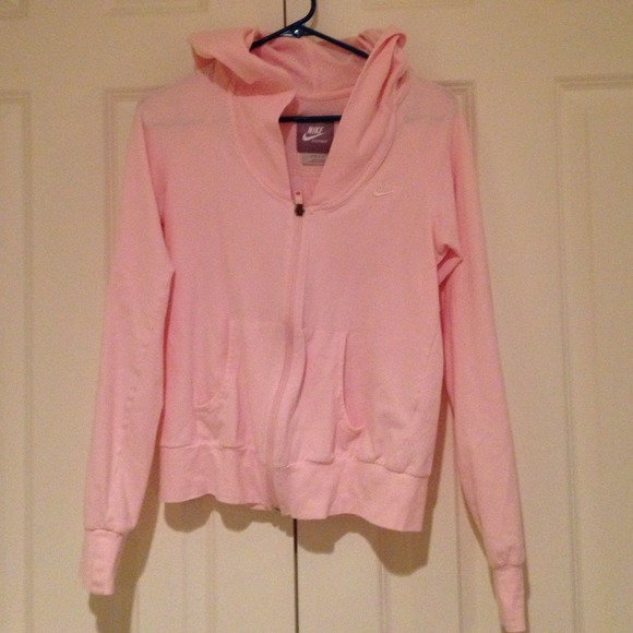 Nike - Cute light pink Nike zip up from Ashley's closet on Poshmark