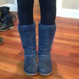 ... classic tall ii boots e36d7 5188b top quality ugg shoes tall navy blue uggs a0872 e552b ...
