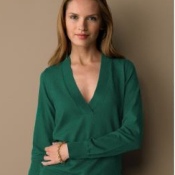 78% off Banana Republic Sweaters - Purple Silk Cotton Cashmere ...