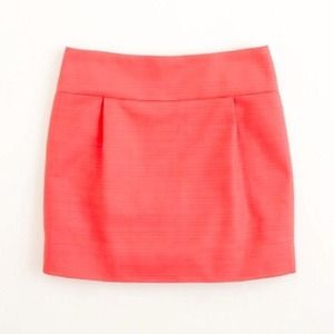 J. Crew Textured Mini Skirt