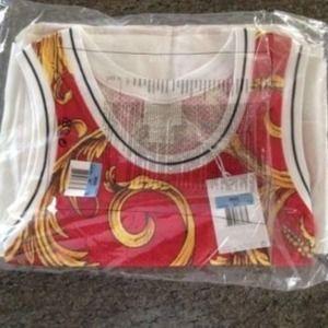 20534729574 Nike Tops - Nike x Supreme Foamposite Basketball Jersey Medium