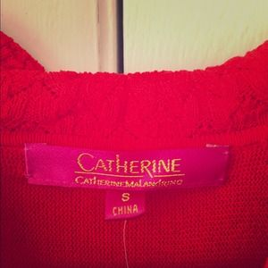 Catherine Malandrino red dress