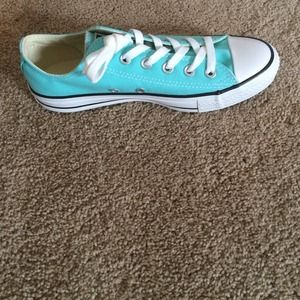 3bf484b9df54 Converse Shoes - Tiffany Blue Chuck Taylor s