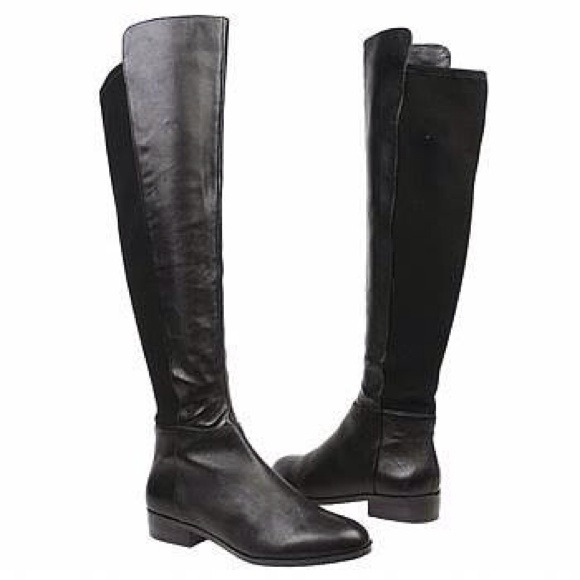 89% off Michael Kors Boots - Riding boots / over the knee from ...
