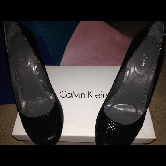 calvin klein calvin klein high heel shoe from christine