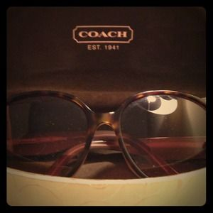 Coach S2030 Tortoise Sunglasses