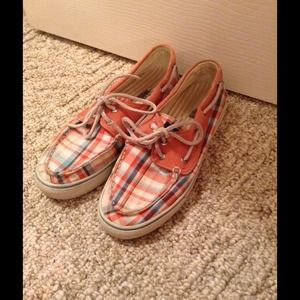 Sperry Top-Sider Orange Boat Shoes