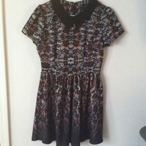 Topshop Tops - Topshop Faux Lace Tunic. Worn once