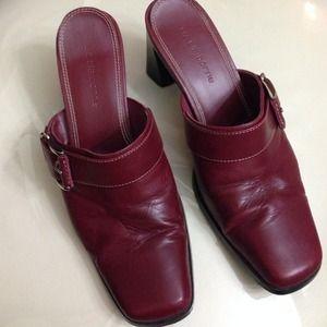 Red/wine shoes, size 6, Liz Claiborne