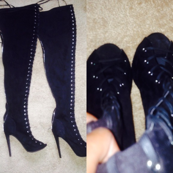 52 shoes zigi piarry thigh high boots from amirah s