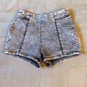 Pacsun High rise Shorts