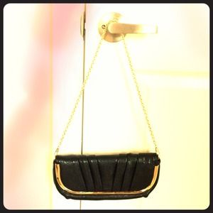 ALDO black purse/clutch