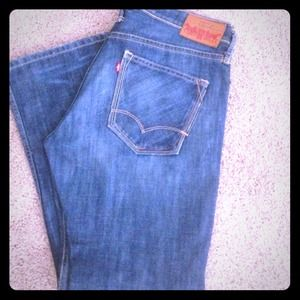 Levi's Other - Men's boot cut red LEVI'S