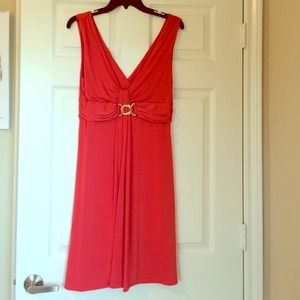 Arden B. Coral dress