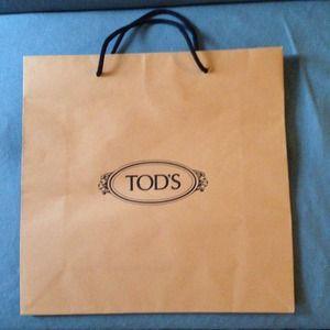 65bab58efcb Tod's Accessories | Tods Shopping Bag | Poshmark