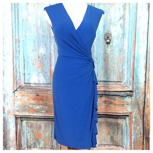 Blue Ralph Lauren Sleeveless Dress
