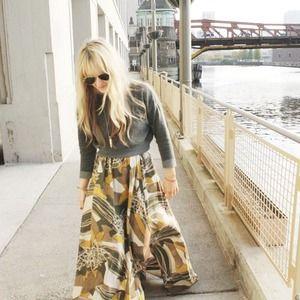 ✨HP✨Rachel Zoe Maxi Skirt