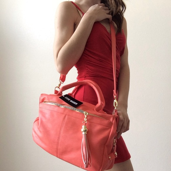 ffd9fe1445 Steve Madden Bags | Reducedcoral Bag Nwt | Poshmark