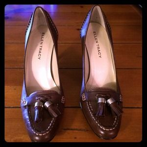 Brown Ellen Tracy Pumps