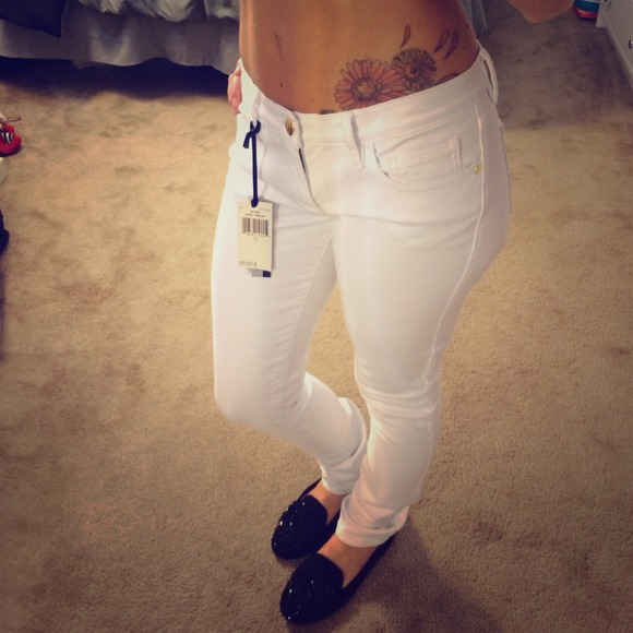 Juicy Couture White Skinny Jeans 061464c7a