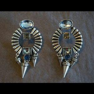 Silver tone Jewelmint Earrings