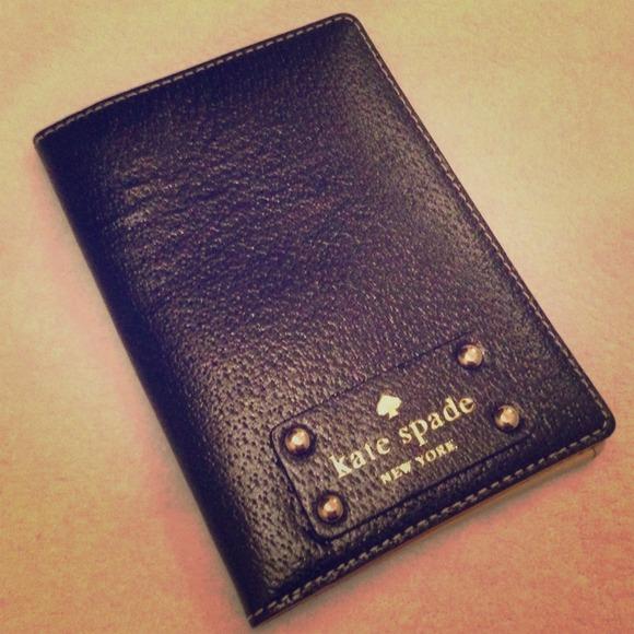 50aea55594d8 Kate Spade Passport holder NWT