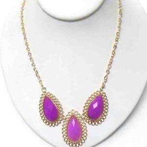 Jewelry - NWT PURPLE NECKLACE