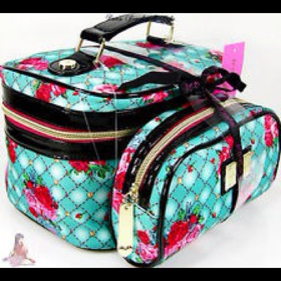 22% off Betsey Johnson Other - New.. Betsey Johnson 2pc train case ...