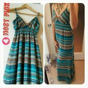 🎊HP🎀Striped maxi dress
