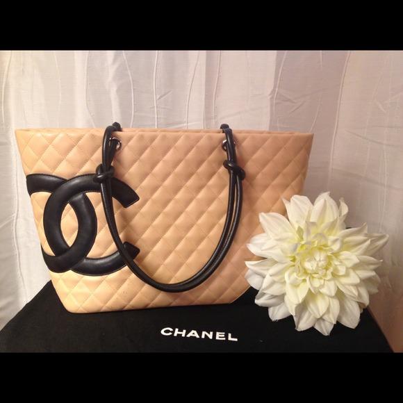 4f93c4623bd0 CHANEL Bags | Authentic Cambon Beige Tote | Poshmark
