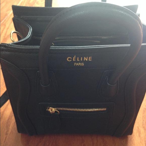 authentic celine bag price - celine nano knockoff