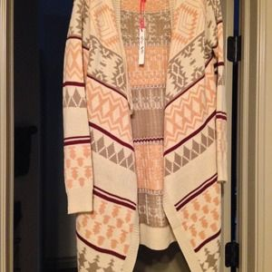 Tribal Flap cardigan