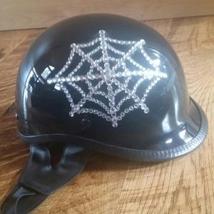 d95d5d943ef Accessories - Custom skull cap hand applied crystals