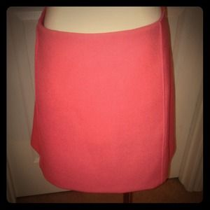 REDUCED! Salmon pink knit hipster skirt
