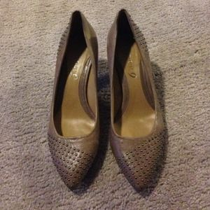 Boutique 9 beaded heels- size 6.5