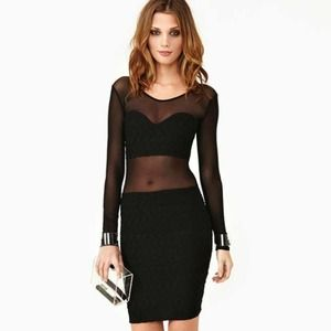 Nasty Gal Voodoo Mesh Dress