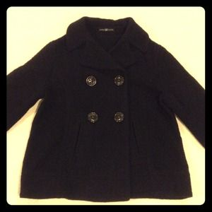 GAP navy blue short peacoat