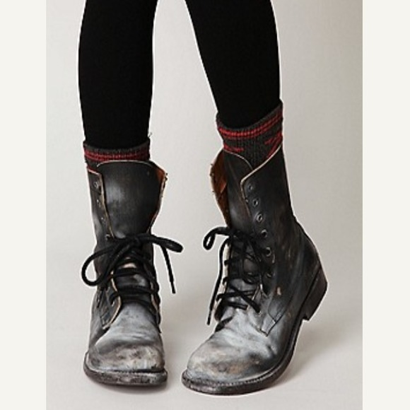 40% off Free People Boots - KEEPING Free People Bed Stu Painted ...