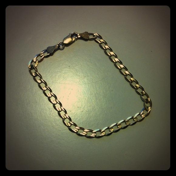 75 off gold Jewelry Real 10k Bracelet From Turkey Poshmark