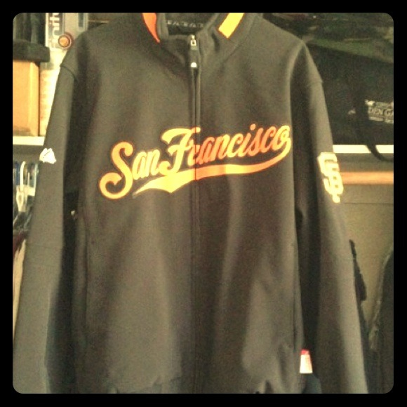 hot sale online dcca3 c378b Majestic San Francisco Giants jacket
