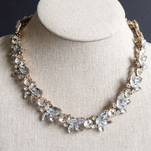 Camille Crystal Vine Collar